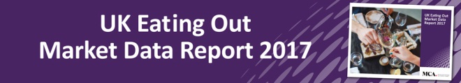 UK Eating Out Market Data Report 2017 banner