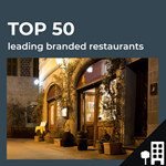 Top 50 leading UK restaurants by outlets