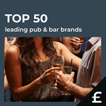 Top 50 leading UK pub bars by turnover