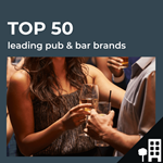 Top 50 leading UK pub bars by outlets