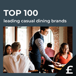 Top 100 leading UK casual dining by turnover