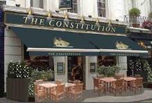 Punch Falcon pub The Constitution, Pimlico