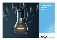 MCA - UK Top of Mind Report 2017