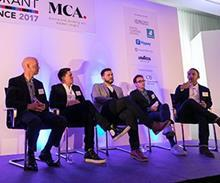 The panel at Restaurant Conference