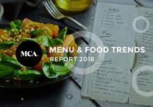 Menu and Food Trends Report 2018