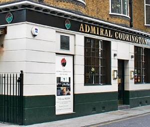 The Admiral Codrington in Chelsea