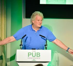 Tim Martin at the Pub Conference
