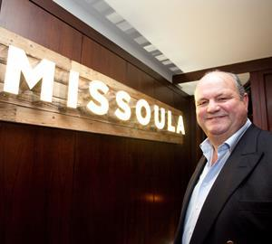 Stonegate chairman Ian Payne at Missoula York