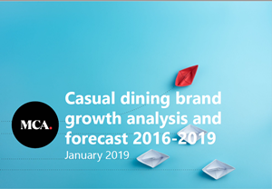 Casual Dining Brand Growth Analysis and Forecast 2016 - 2019 Cover