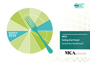 MCA - Eating Out Panel - March 2016