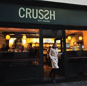 Crussh's latest rebrand saw LFLs rise on average by 28%