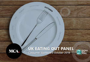 MCA Eating Out - Consumer Dashboard - October 2018 cover
