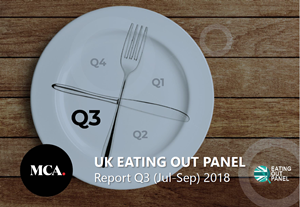 Eating Out Panel Quarterly Report Q3 2018