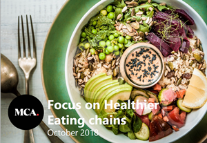 focus on healthier eating brands