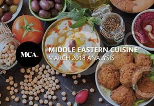 Middle Eastern cuisine analysis March 2018