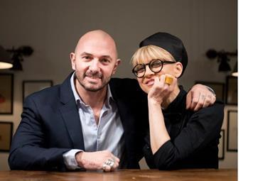 Roberto Costa and Simona Ranieri